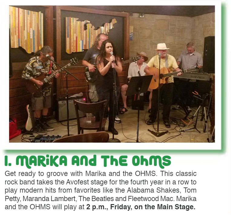 Santa Barbara Rock Band Marika and Ohms